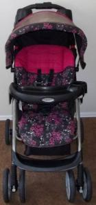 Pink Graco Stroller/Car Seat Set