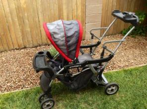 Sit and Stand Stroller LX